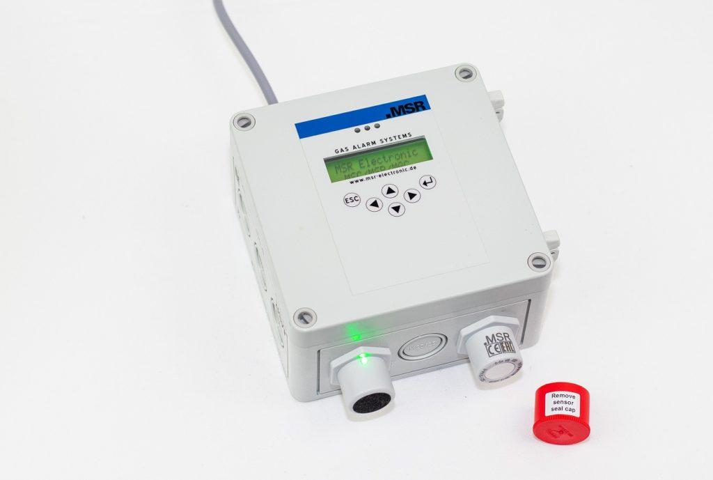 MSC2 Multi-Sensor-Controller von MSR-Electronic GmbH für stationäre Gaswarnanlagen