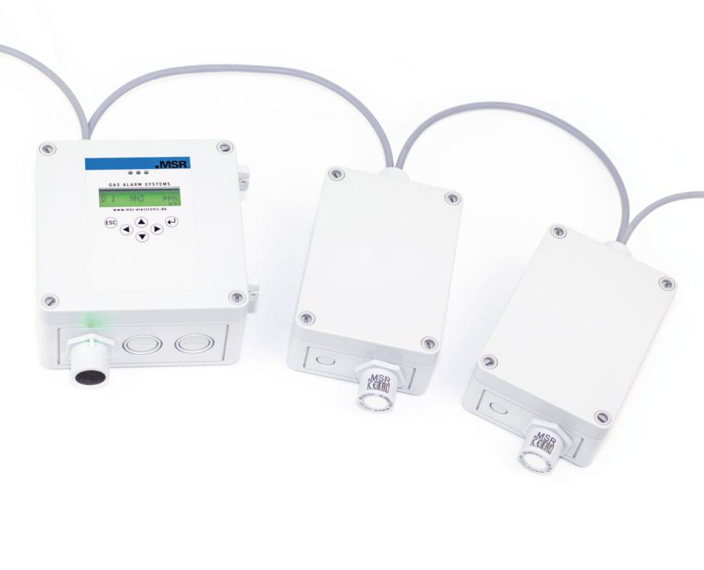 Compactcontroller von MSR-Electronic für kleinere stationäre Gaswarnanlagen