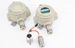 Methan-Gaswarngerät PX2 mit Sensorkopf SX1 von MSR-Electronic GmbH, Germany für Überwachung von Deponiegas