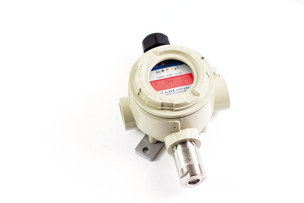 MSR-Electronic, Germany_Stationäre Methan-Gaswarnanlage_ PolyXeta®2