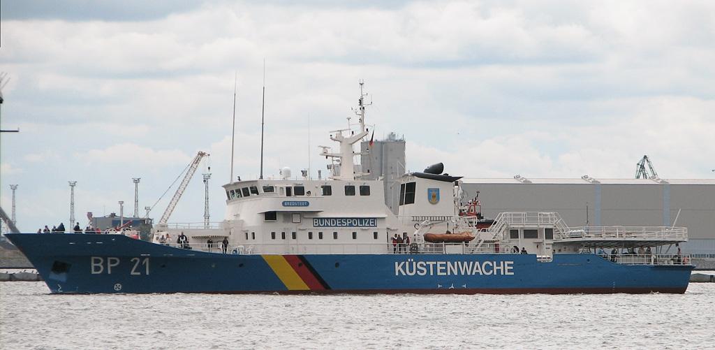 Patroullienschiff mit Gaswarnsystemen von MSR-Electronic
