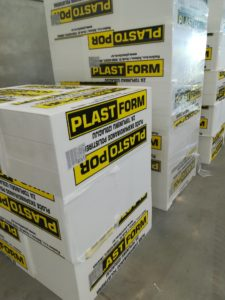 Produktion von Polystyrol mit Gasüberwachung von Pentangas von MSR-Electronic