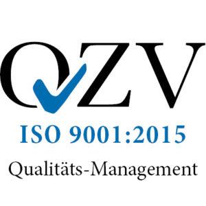 Logo ISO9001:2015 Qualitäts-Management
