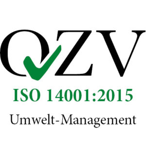 Logo ISO 14001:2015 Umwelt-Management