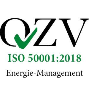Logo ISO 50001:2018 Energie-Management